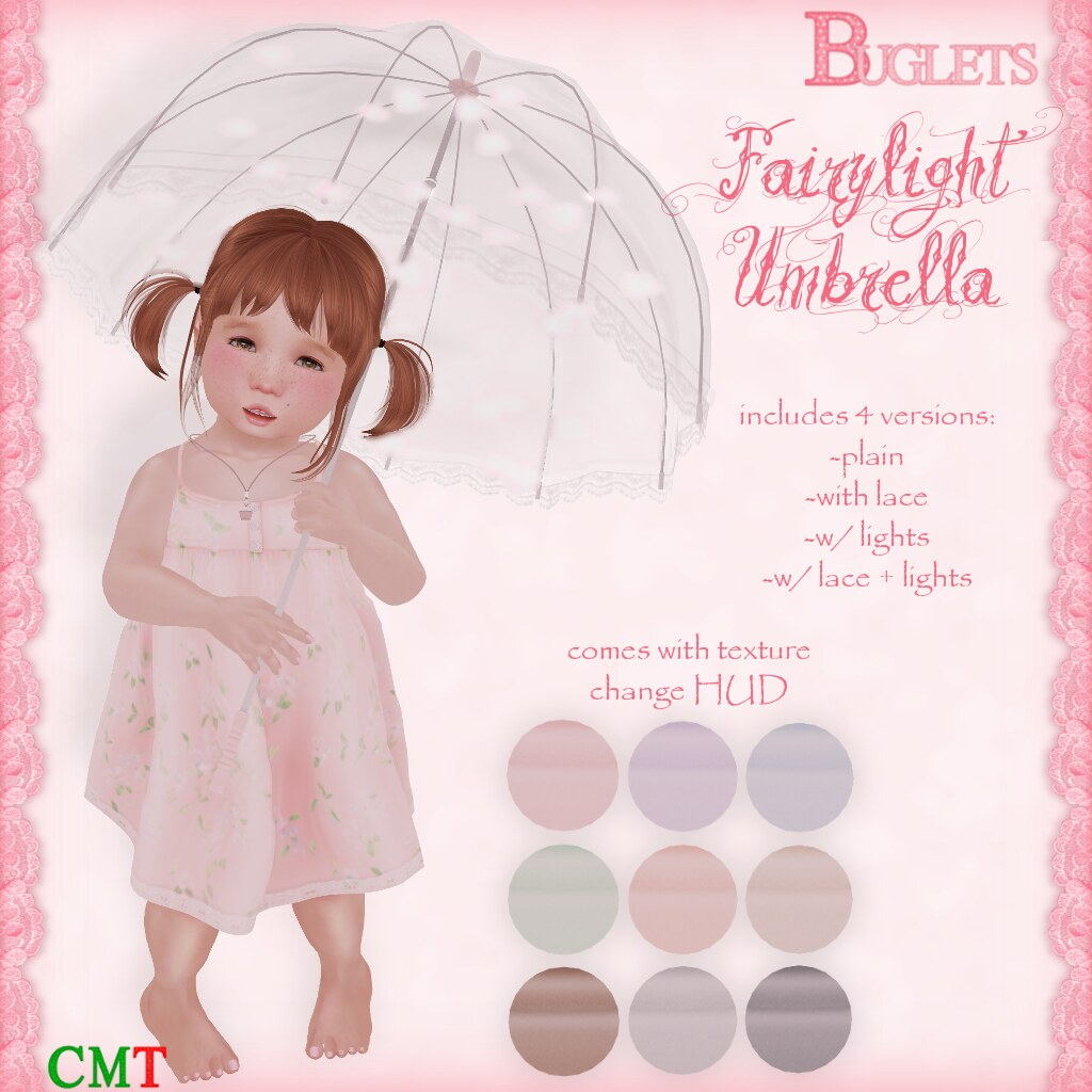 Fairylight Umbrella AD - SecondLifeHub.com