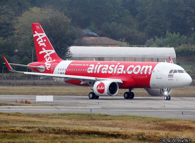 A320NEO ThaiAirAsia F-WWIM-002 cn7195, Canon EOS 60D, Sigma 50-500mm f/4-6.3 APO HSM EX