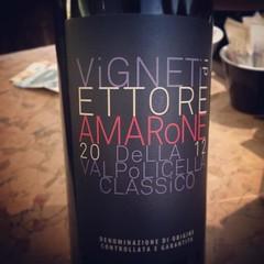 E finiamo in bellezza #noi #visioni #verona #amarone #wine #vino