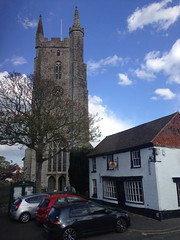The tower of All Saints church, Lydd