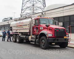 FDNY Fleet Services Fuel Truck, Blissville, Queens, New York City