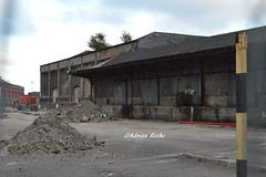 Ongoing Building Work For New Entrance Kent Station Cork.