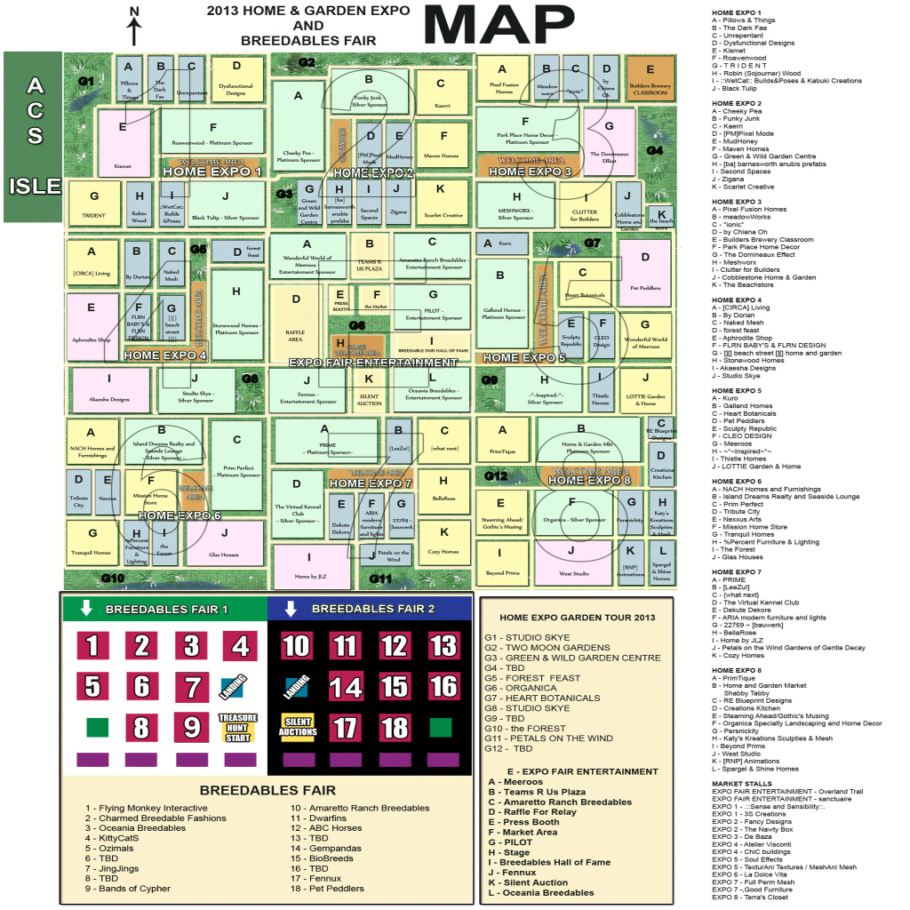 Home Expo 2013 Map v1.3