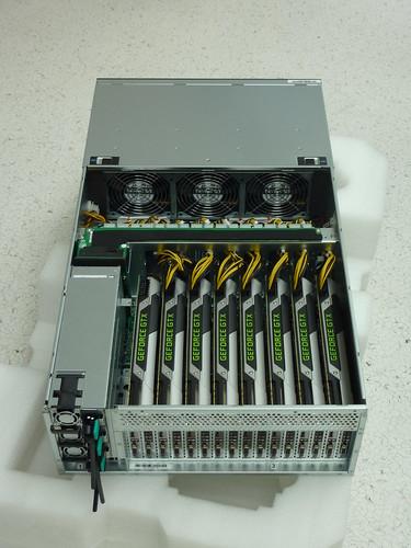 8 GPU Nvidia Titan System
