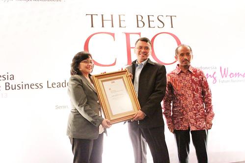 The Indonesia Future Business Leader 2013: Andi Asrianto Sakka.