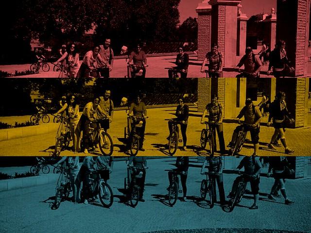 Amigos de Bici Ciudad en Madrid Rio