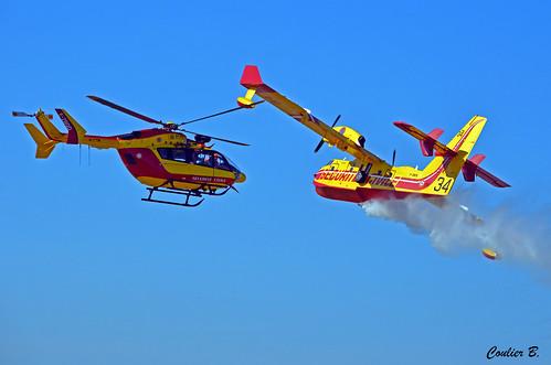 Eurocopter EC145 & Canadair CL-415