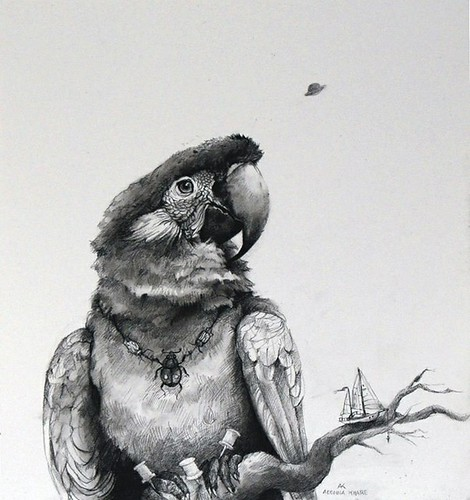 Adonna Khare, Parrot and Sailboat, 2013