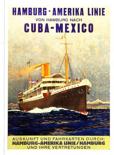 Hamburg America Line - Cuba -Mexico