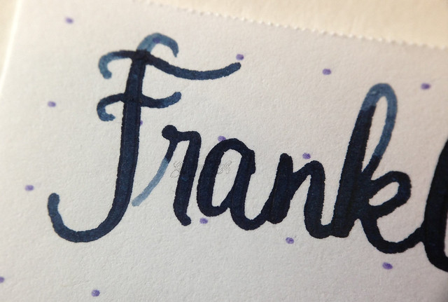Franklin-Christoph Dark Denim Close Up