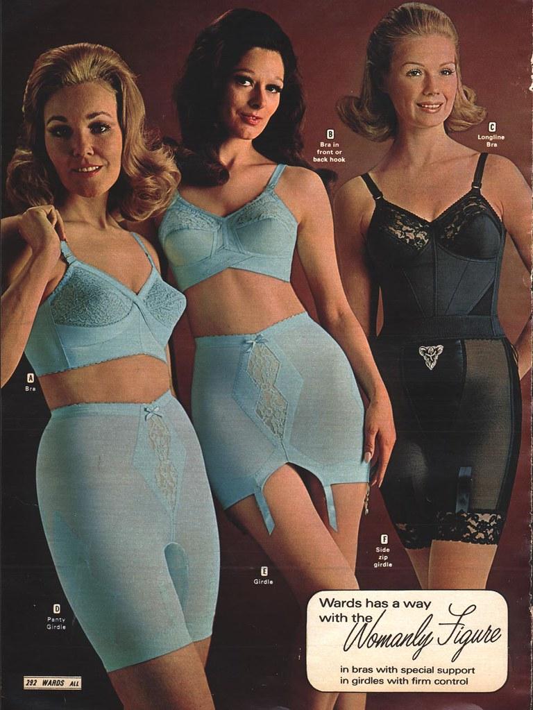 Girdles - Wards, 1970 Fall  Catalog Scan From A Retro -8979