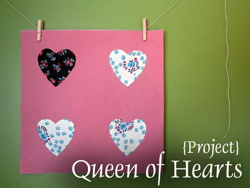 Queen of Hearts for the Penny Sampler