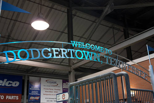 Entrance to AT&T Field - Home of the Chattanooga Lookouts