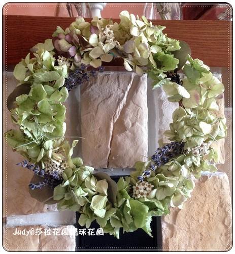 繡球花圈20130629-005