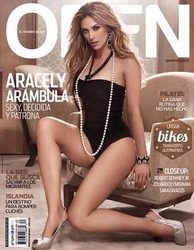 Aracely Arámbula, revista Open