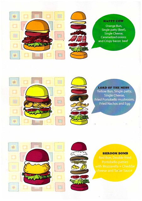 smashies burger menu - annoying orange