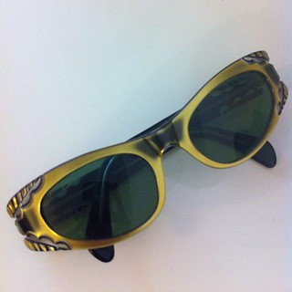 #vintage French sunnies from #tagsale in Melville. #fashion