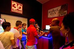 在古巴,一个消费阶层吸引了商业人士的目光,他们中的一些人给自己的公寓配备了3D设备。