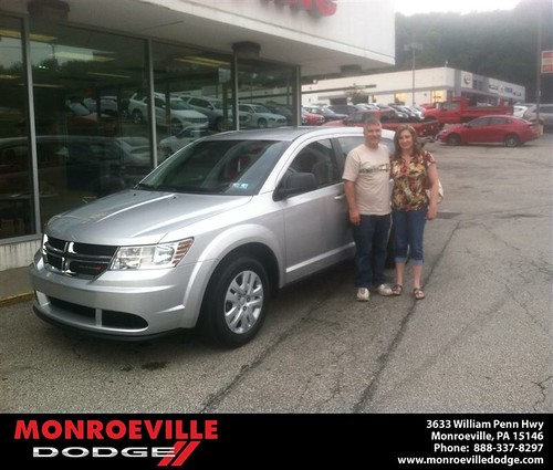 Thank you to Patrick  Toomey on the 2013 Dodge Journey from Richard Skolak and everyone at Monroeville Dodge! by Monroeville Dodge