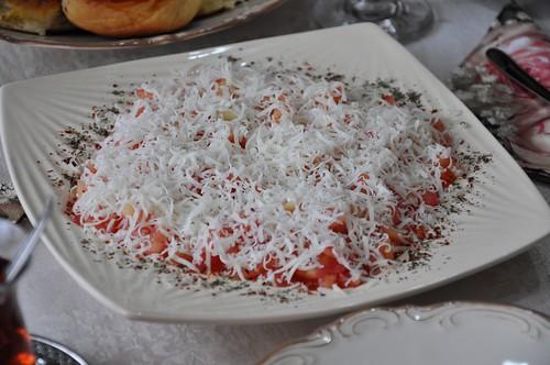 domatese kar yağdı