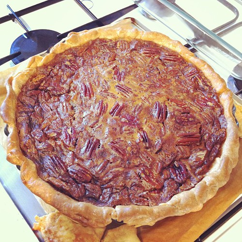 Makin' a big ole #Derby #pie for the #Brits