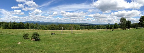 trees sky field clouds vermont view panoramic bb iphone comstock
