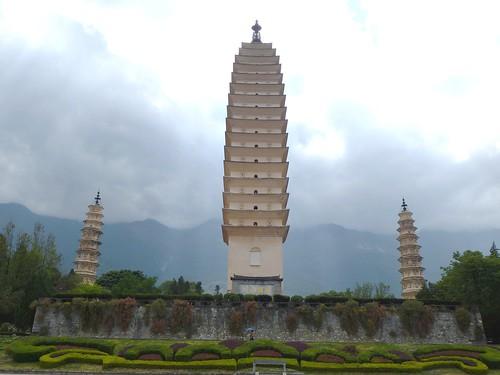 Yunnan13-Dali-1. Pagodes-étang (37)