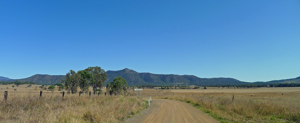 Mount Beau-Brummel from Grey Plains Road
