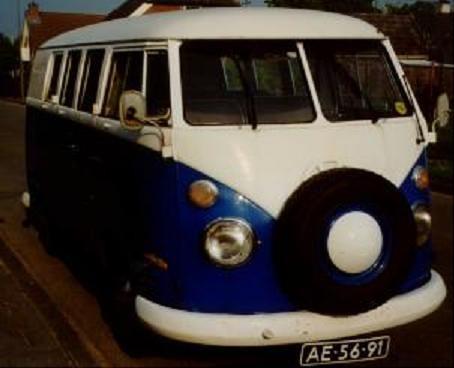 AE-56-91 Volkswagen Transporter kombi 1964