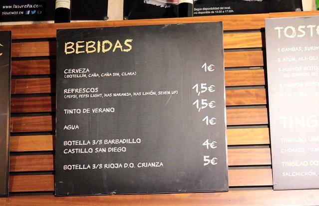Cervecería La Sureña - Onde comer em Sevilha
