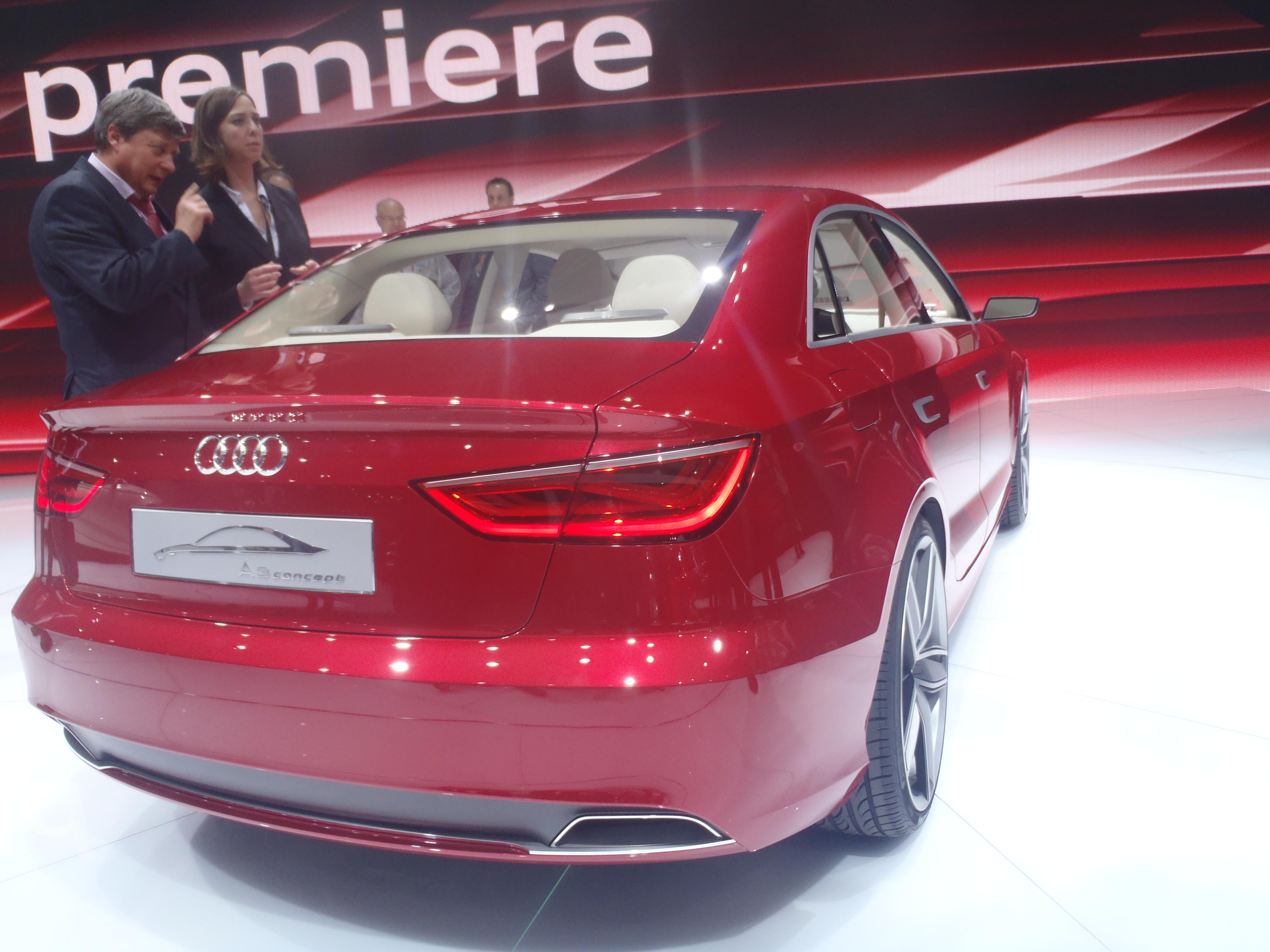 Audi A3 concept Ginevra 2011 vista posteriore