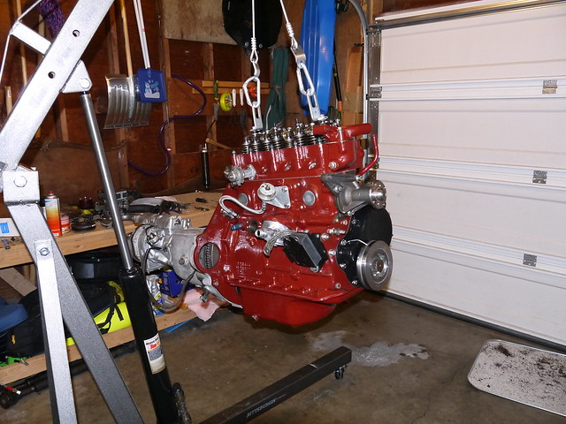 Por 15 mg maroon engine enamel mgb gt forum mg for Wright motors north platte