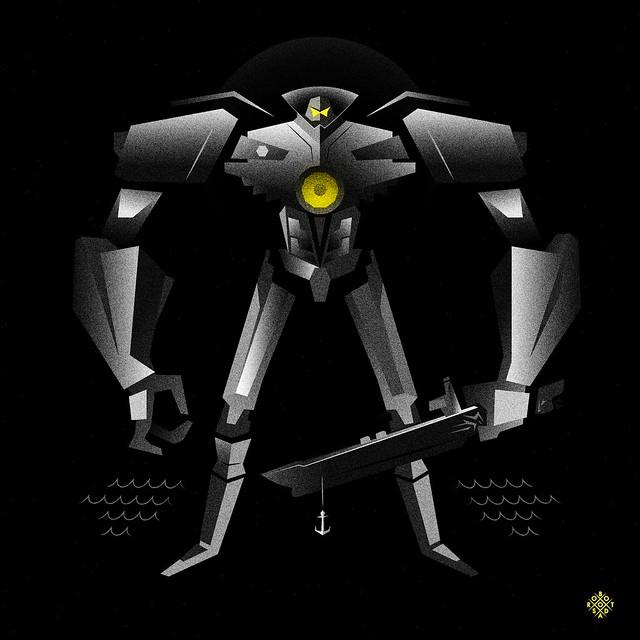ROBOTSODA GIPSY DANGER / Pacific rim