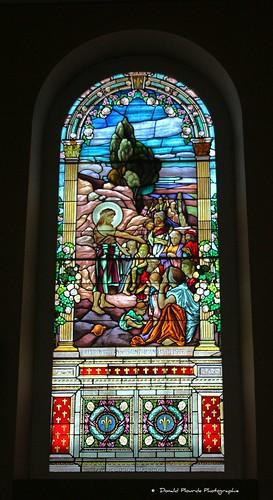 Église Ste-Luce sur Mer Church   Art du Verre
