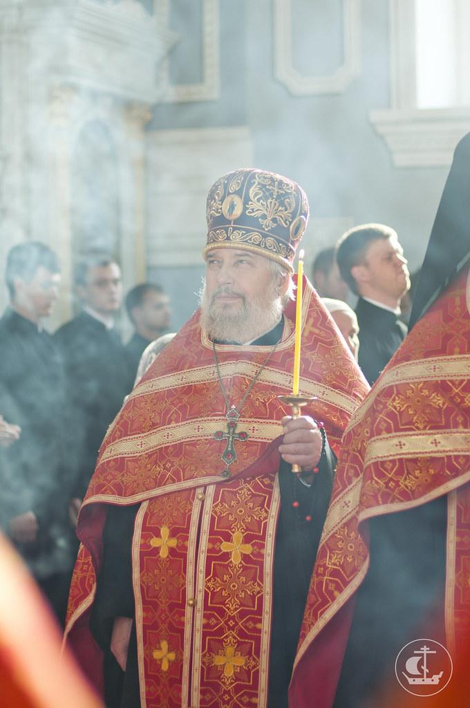 10 сентября 2013, Всенощное бдение накануне дня Усекновения главы Иоанна Предтечи