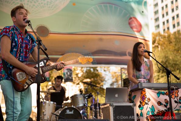 ST Lucia @ Launch Festival,  Sacramento 09-08-2013