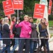 Louise Irvine, the chair of the Save Lewisham Hospital campaign