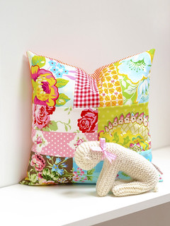 Patchwork Kissen / Pillow