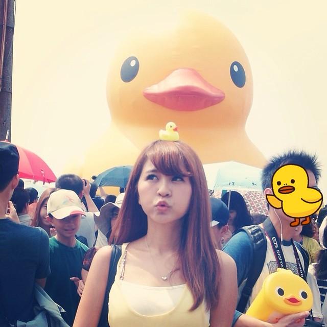 20130920看黃色小鴨(≧∇≦)