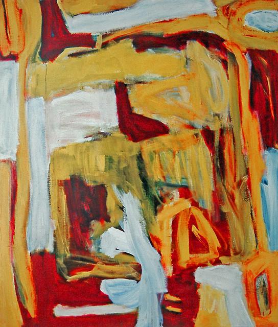 Expressionism Paint Door