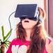 Anna Bashmakova and Oculus Rift by Sergey Galyonkin