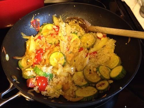 Libyan style quinoa