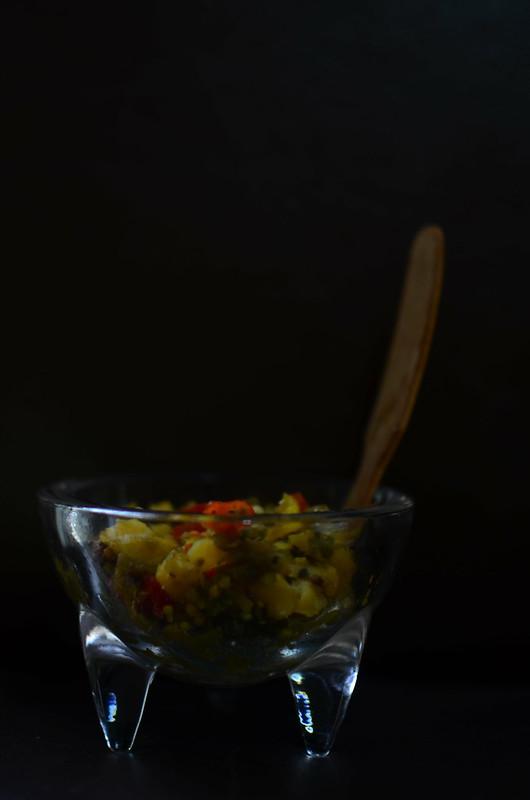 Plantain & Garden Egg Chutney