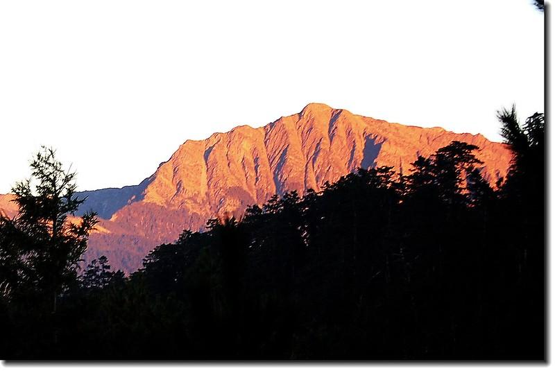 南湖大山(From 多加屯山) 3