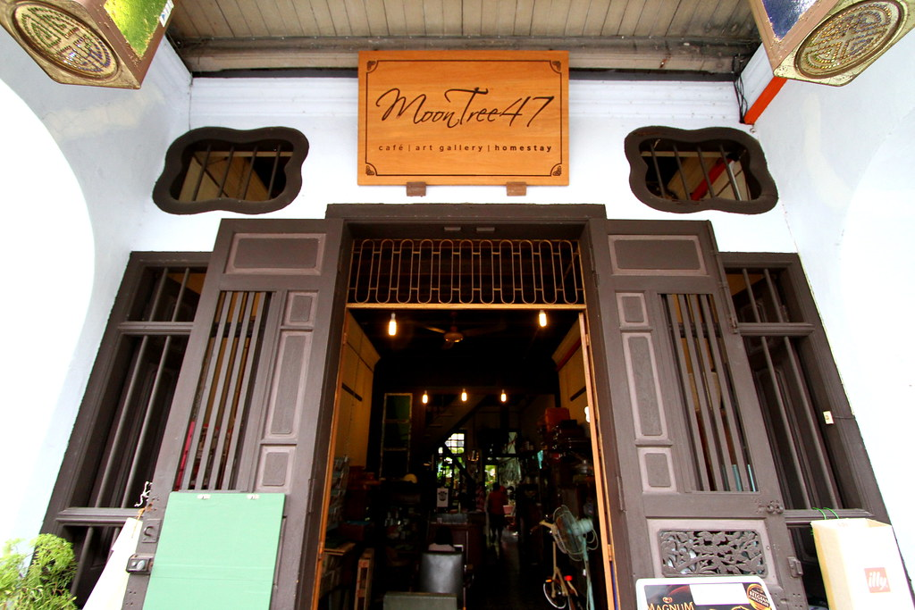 George Town Cafes: MoonTree 47 Entance