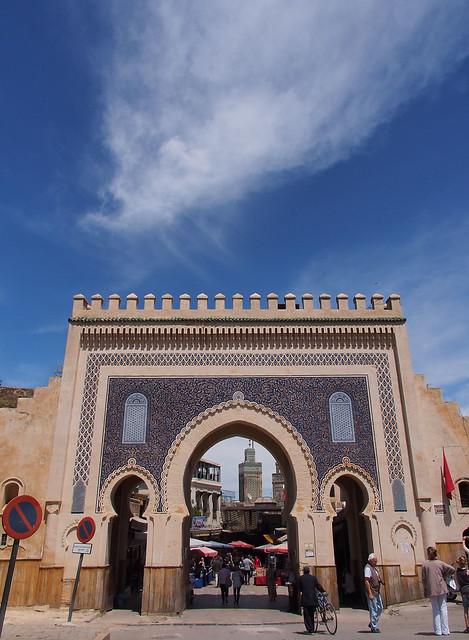 Fes古城門