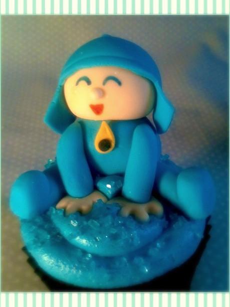 Cupcake Pocoyó