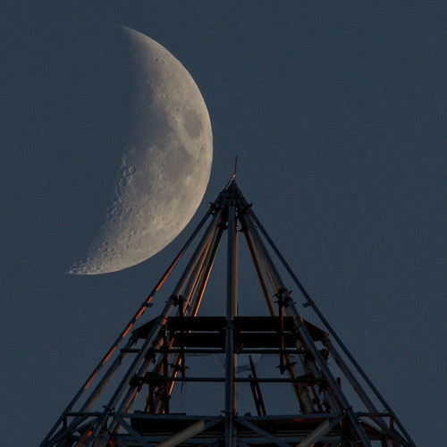 moon scaffolding washingtonmonument