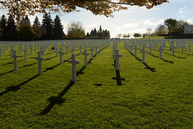 Americans, Belgians commemorate fallen brethren