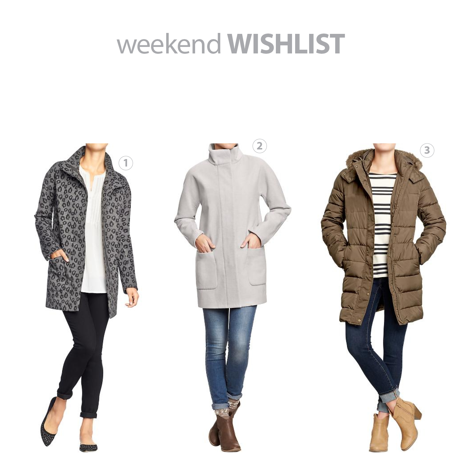 weekend wishlist_five